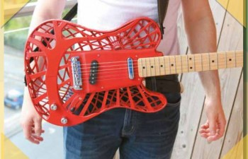 3D printing technology guitar