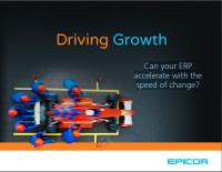 Driving growth cover
