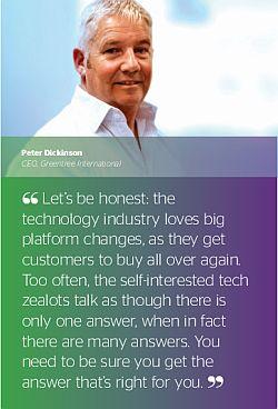Peter Dickson, Greentree