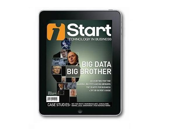 iStart magazine - Big Data, Big Brother | Quarter Three 2013