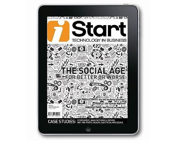 iStart magazine - The social age, for better or worse | Quarter Four 2013