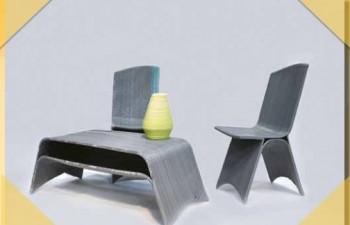 3D printed furniture