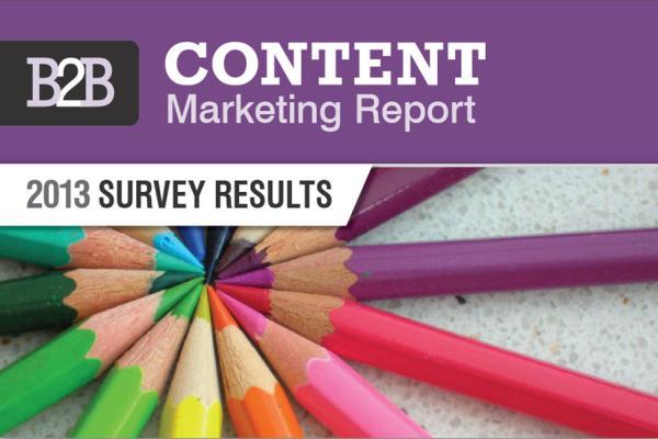 B2B marketing report