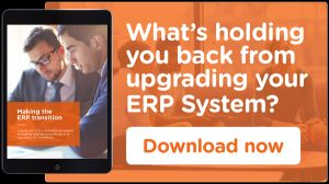 Upgrading your ERP system