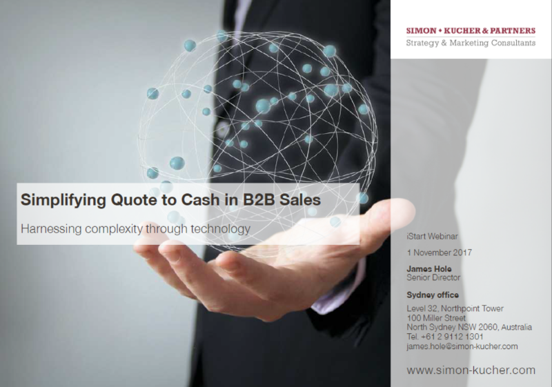 Lunch Box: Simplifying Quote to Cash in B2B Sales