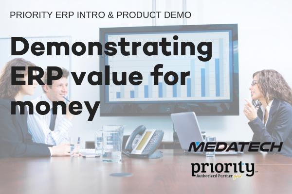 ProdCast: Demonstrating ERP value for money