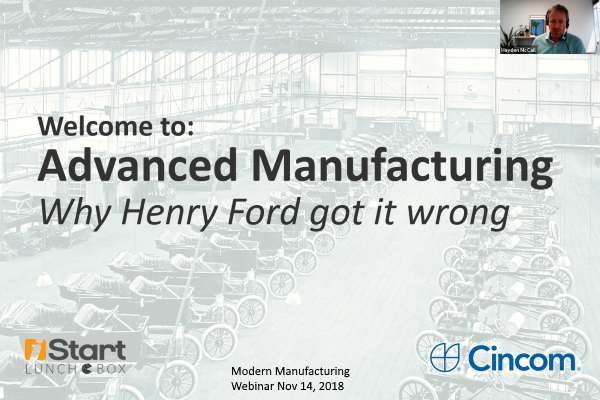 Advanced Manufacturing: Why Henry Ford got it wrong