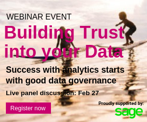 Sage webinar - Building trust in your data