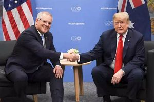 ScoMo social media laws G20 Trump