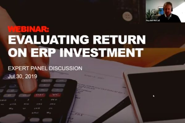 Evaluating Return on ERP Investment