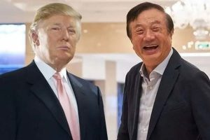 Ren Zhengfei vs Donald Trump