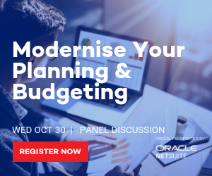 Modernise Your Planning & Budgeting webinar