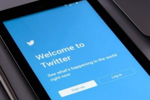 Twitter signup two step authentification