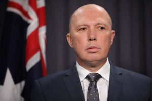 Minister for Home Affairs Peter Dutton_AU security law