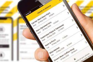 NZ Covi19 contact tracing app