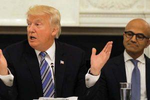 Trump and Satya Nadella_TikTok deal