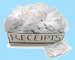 NAB paperless receipts