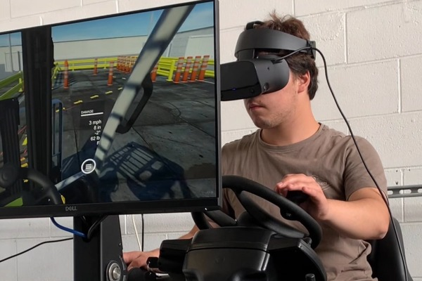 VR providing kiwis forklift jobs